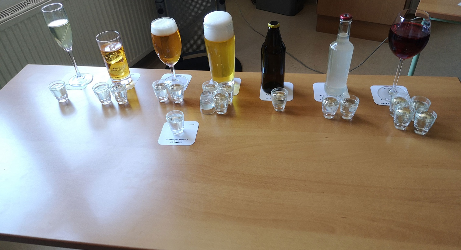 Alkohol-Workshop der 3B
